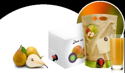 Conditionnement de jus de fruit pour industriel