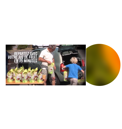 Transport et stockage du jus de fruits après pressage par Pressi Mobile